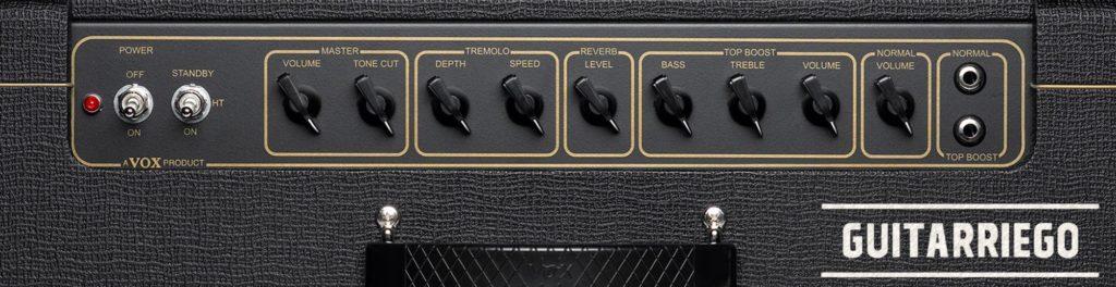 VoxAC15C1コントロールパネル