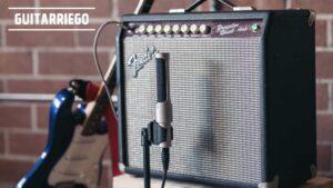 Microfonear amplificador de guitarra, consejos.
