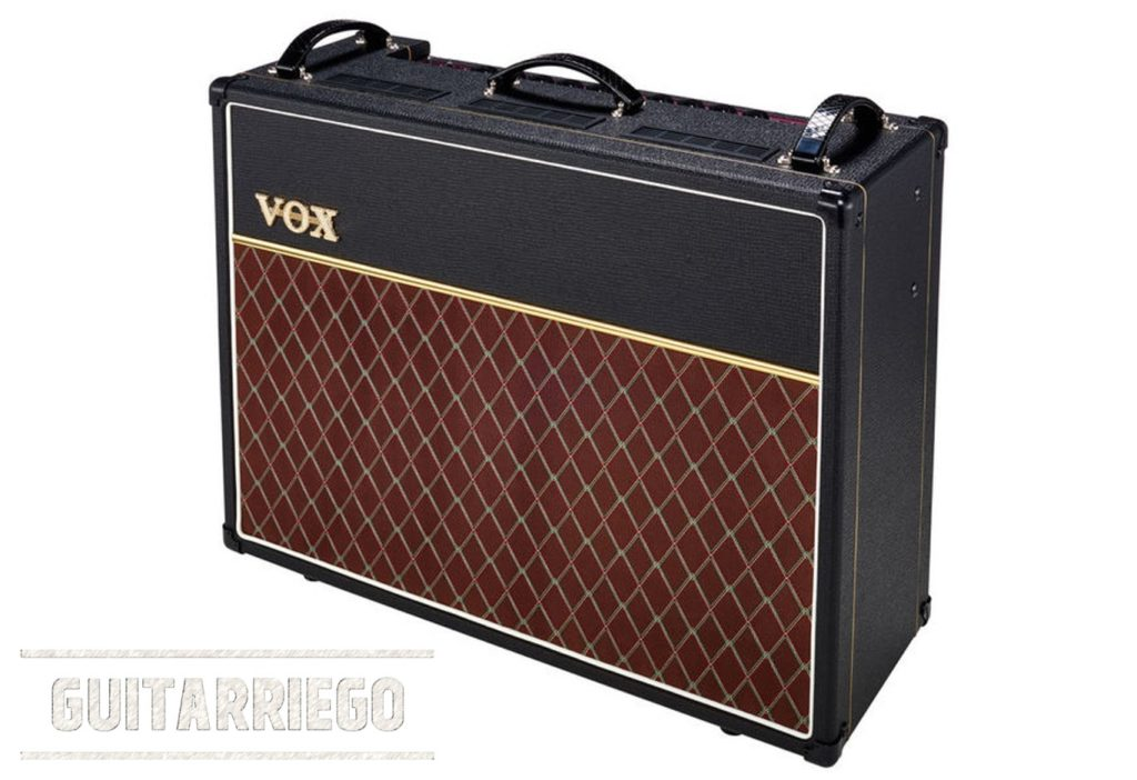 Vox AC30 (AC30C2) el hermano mayor del AC15 (AC15C1)