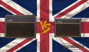 Vox AC30 vs AC15 (AC30C2 vs AC15C1) amplificador valvular de guitarra