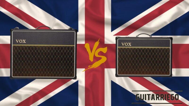 Vox AC30 vs AC15: review, opiniones y precios de dos clásicos
