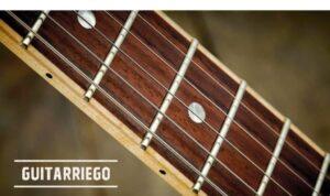 Guía de trastes de guitarra: medidas, tono, tamaños, materiales