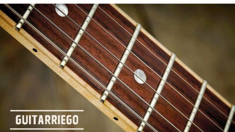 Trastes de guitarra: guía sobre todo lo que tenés que saber