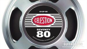 Celestion Seventy 80 / G12P-80 altavoz parlante speaker guitarra características y opiniones