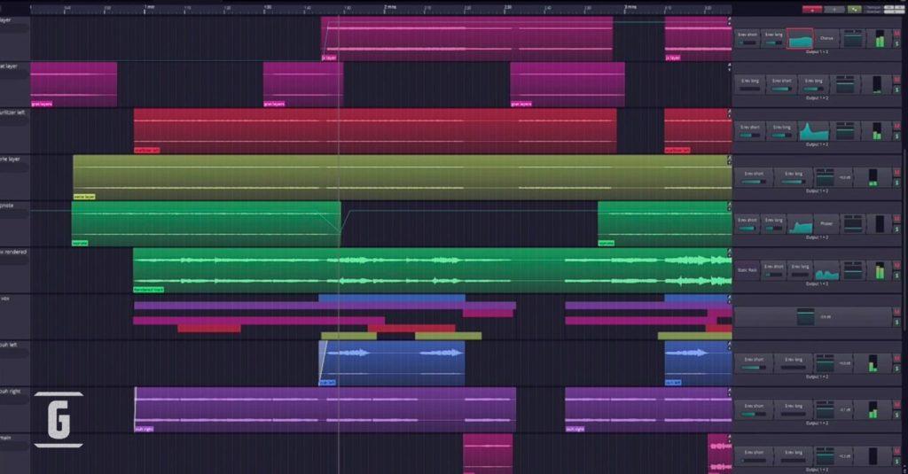 Waveform Free de Tracktion Software Corporation, uno de los más populares DAW gratis al alcance de cualquier guitarrista, músico.