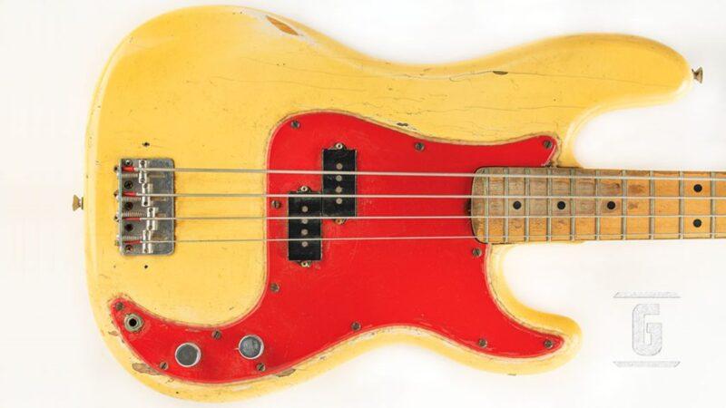 Subastan el Fender Precision Bass 1975 de Dee Dee Ramone