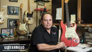 Fender despidió a John Cruz, el reconocido Master Builder del Custom Shop.