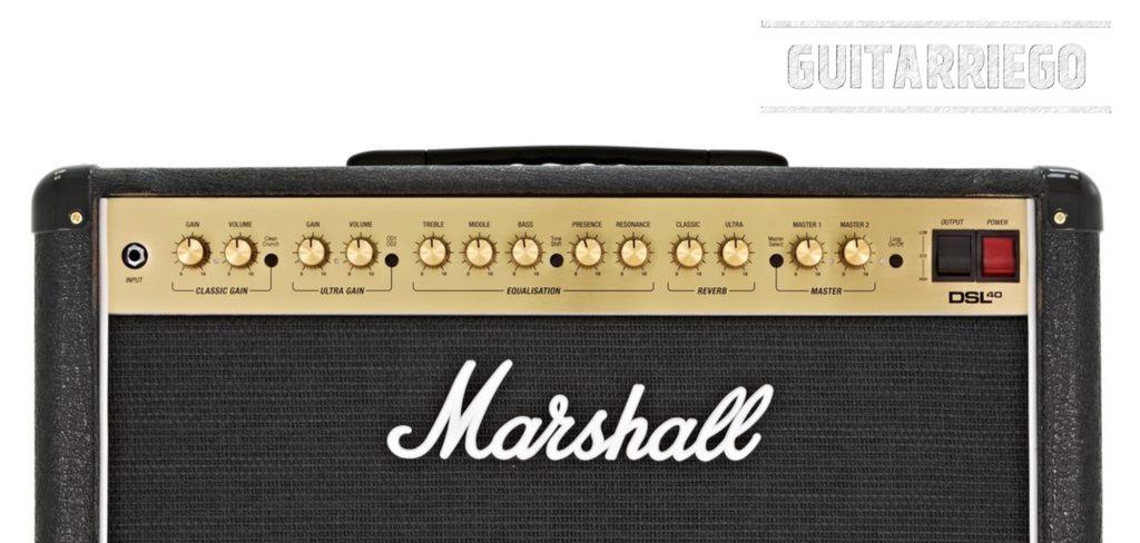 Controlli Marshall DSL40CR.