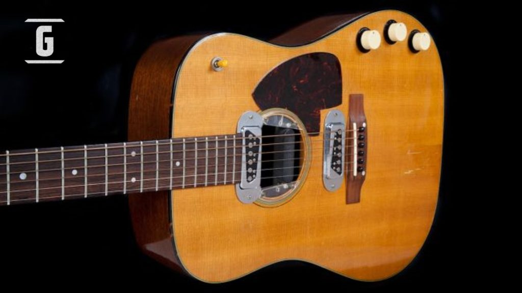 Martin D-18E de Kurt Cobain, guitarra acústica vendida en USD 6 millones