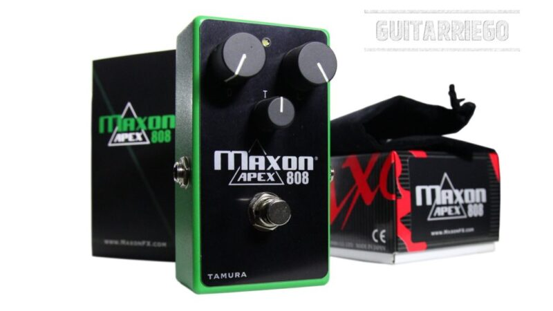 Maxon Custom Shop lanza el APEX808 Overdrive