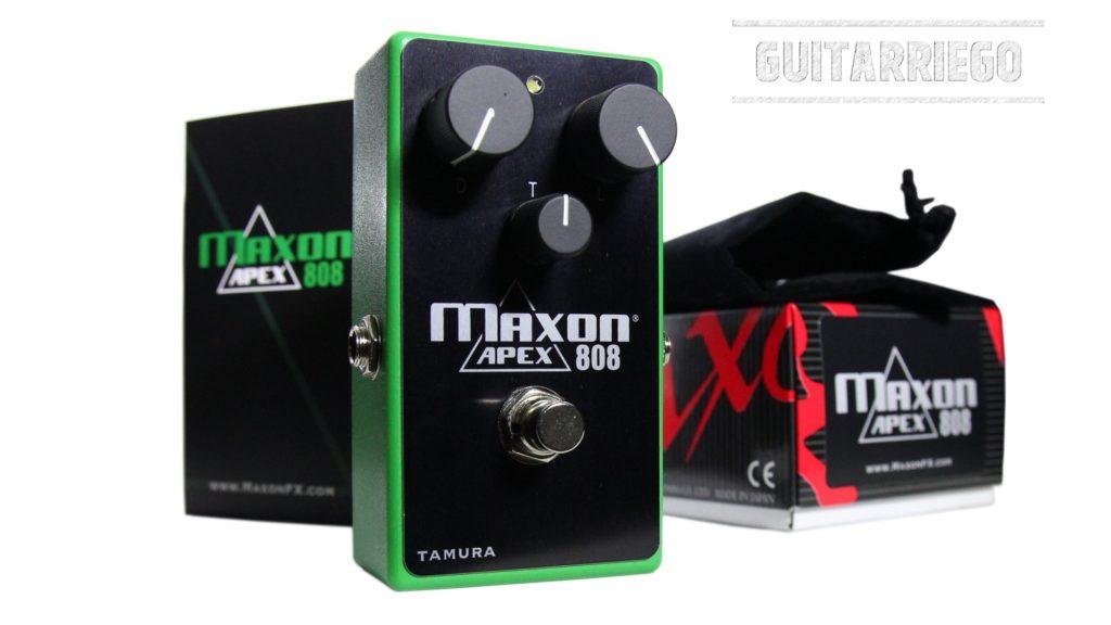 Maxon Custom Shop lanza el APEX808 Overdrive