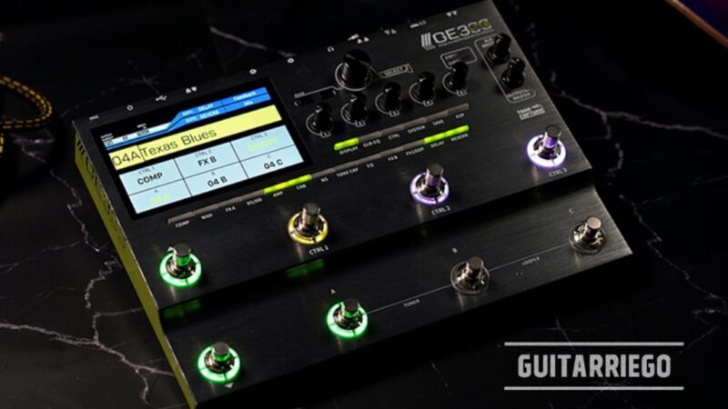 Mooer GE300 LITE: new compact multi-effects pedalboard