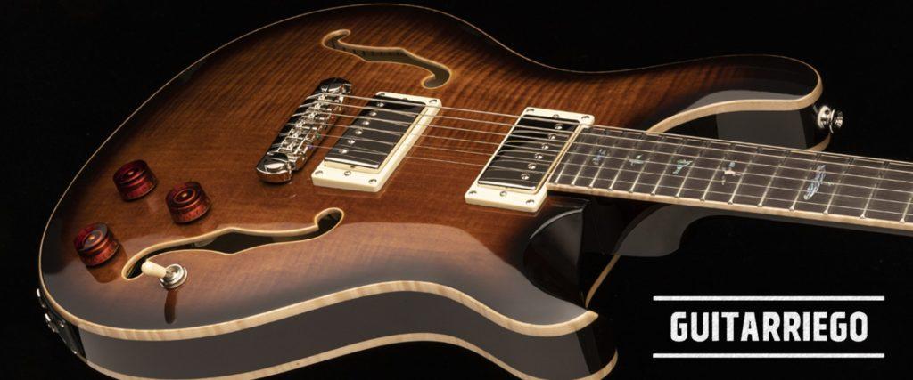 PRS SE Hollowbody II Piezo, nueva guitarra, nuevas características construictivas