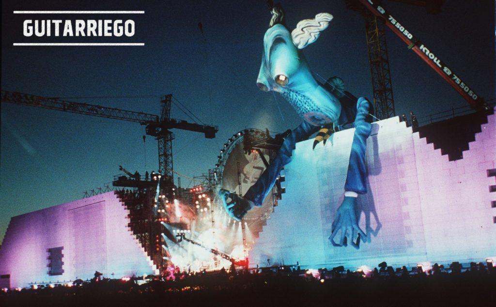 Recital The Wall Live por Roger Waters en Berlín en el aniversario de la caída del muro.