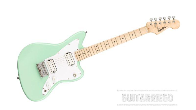 Squier Mini Jazzmaster HH: la nueva guitarra para niños