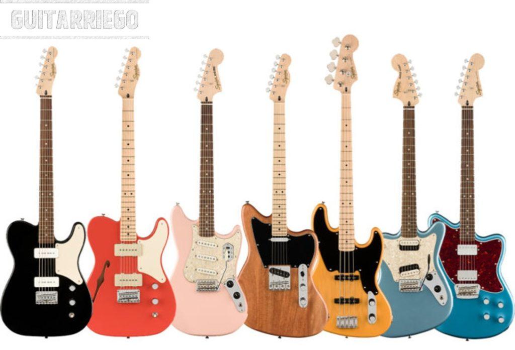 Squier Paranormal: su versión de la Serie Fender Parallel Universe