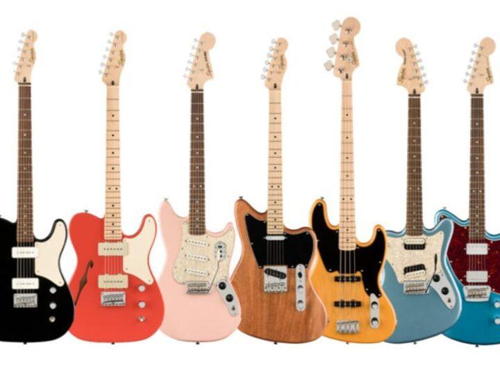 Squier Paranormal: su versión de la Serie Fender Parallel Universe.