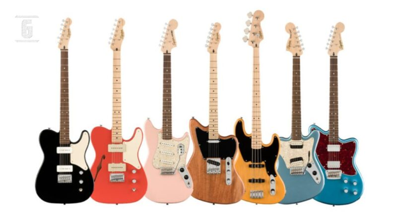 Squier Paranormal: a cheap version of Fender Parallel Universe