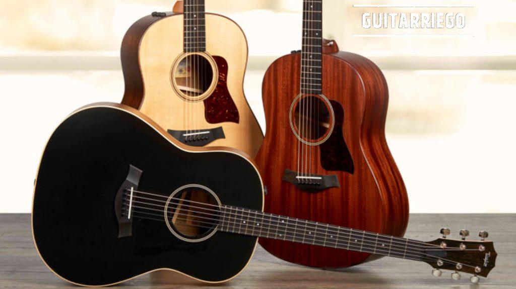 Taylor American Dream AD17 Blacktop, AD17 Natural, AD27: guitarras acústicas baratas fabricadas en EEUU