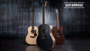 Taylor American Dream AD17 natural y Blacktop y AD27, guitarras acústicas.