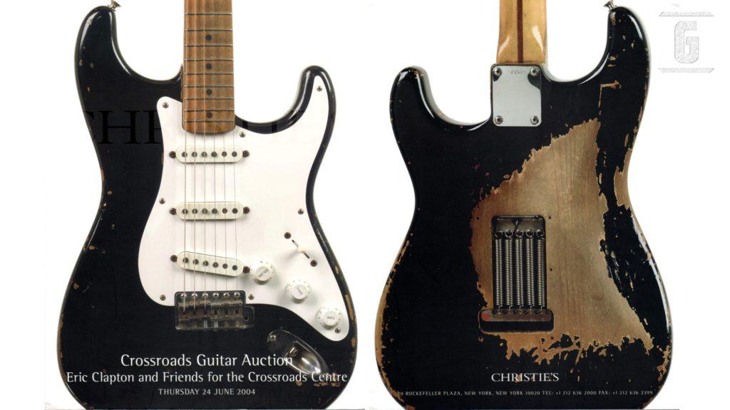 Blackie de Eric Clapton, una de las más legendarias Fender Stratocaster.