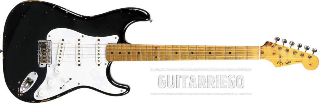 Blackie de Eric Clapton, una Fender Stratocaster que lo tiene todo.