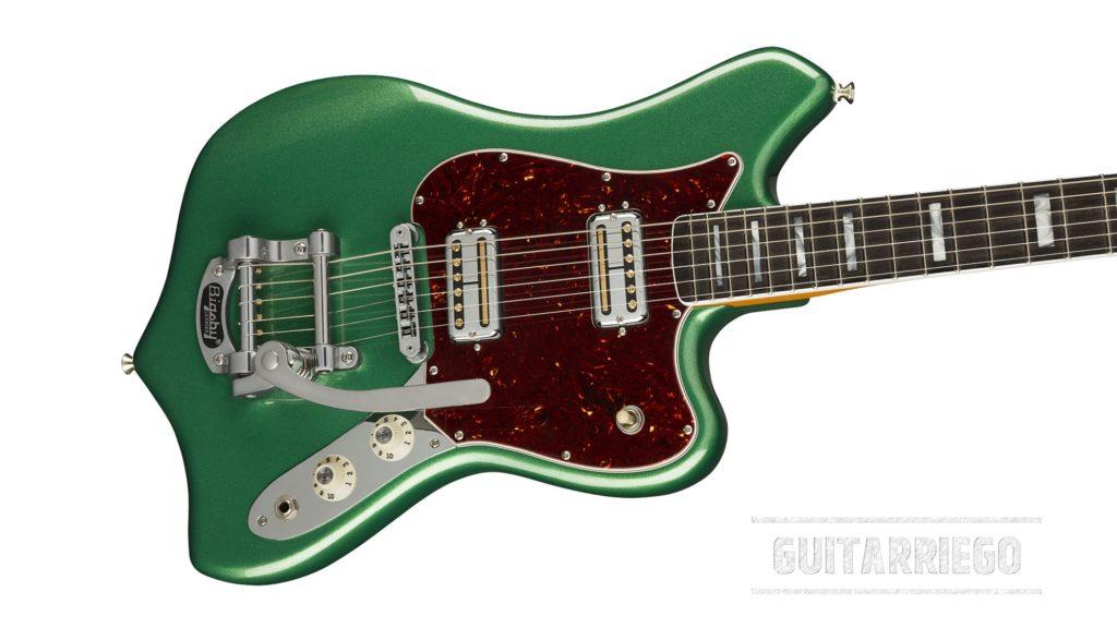 Fender Maverick Dorado Mystic Pine Green