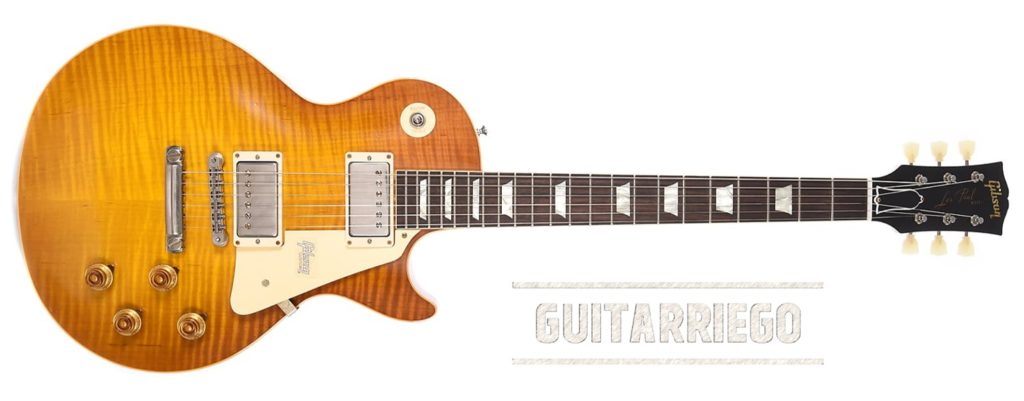 Gibson Les Paul Standard 1958 R8 Custom Shop.