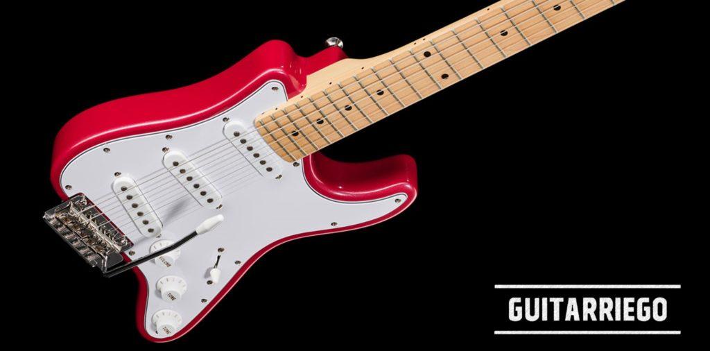 Harley Benton VT Series, nueva guitarra viajera barata.
