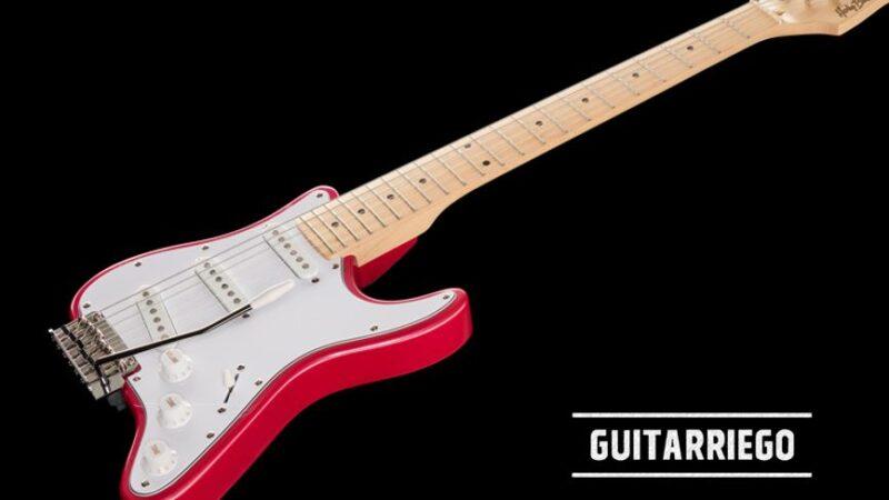 Harley Benton ST-Travel: la guitarra viajera tipo Strat barata