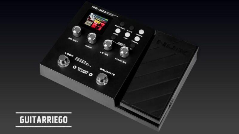 Nux MG-300, el nuevo multiefectos y modelador de guitarra
