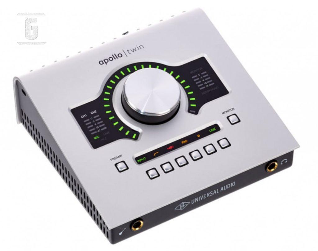 Universal Audio Apollo Twin USB Duo, eines der beliebtesten Audio-Interfaces für Gitarristen.