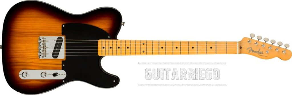 Fender Esquire 70th Anniversary Sunburst de dos tonos
