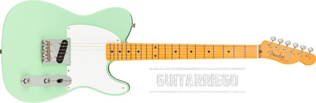 Fender Esquire 70th Anniversary Surf Green.