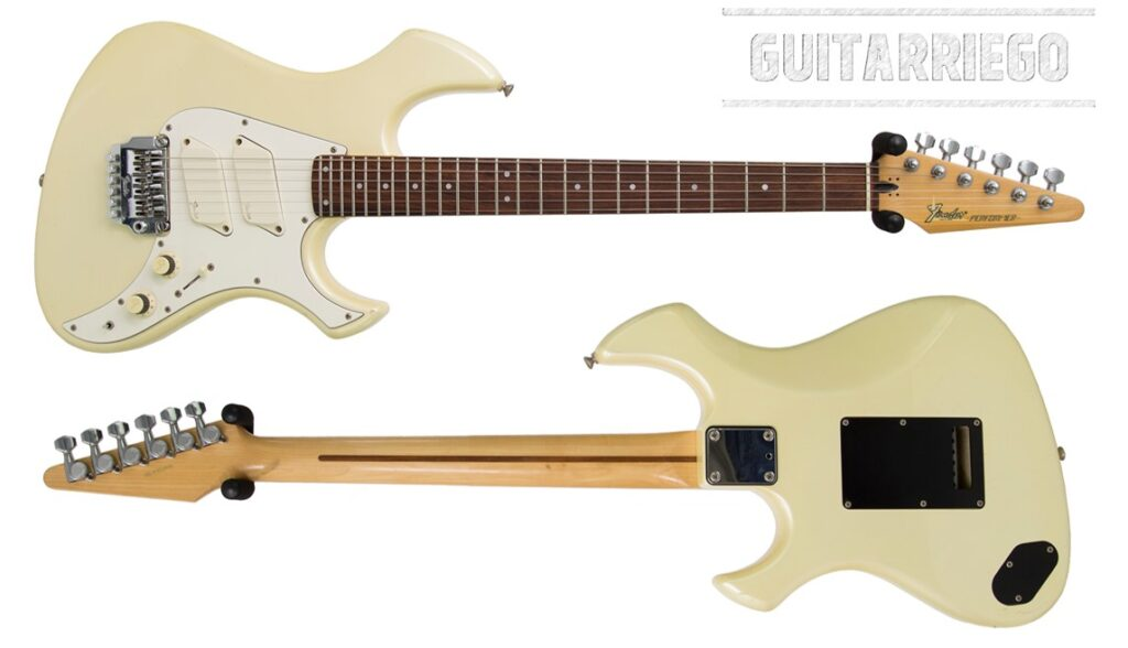 Fender Performer, a futuristic guitar that was a flop.