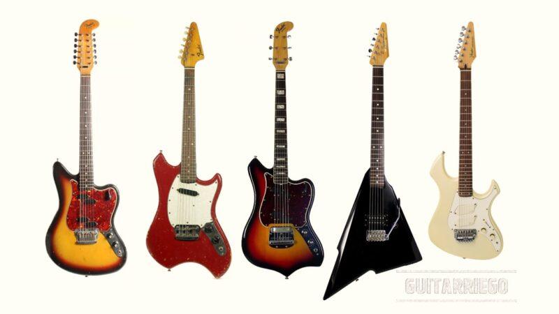 Los fracasos de Fender: guitarras feas, raras o no comprendidas