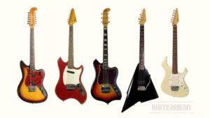 Fracasos de Fender: guitarras raras, feas o no comprendidas: Fender Electric XII, Swinger, Maverick o Custom, Katana, Performer, Marauder, Squier Venus Vista y D'Aquisto.