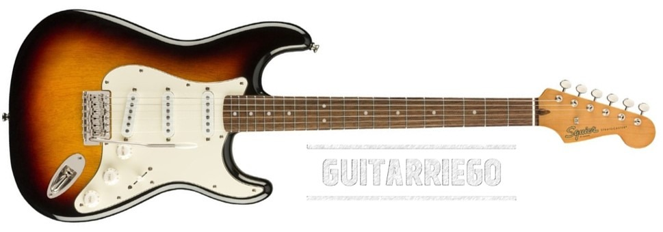 Squier Stratocaster Classic Vibe 60 fabricada en China