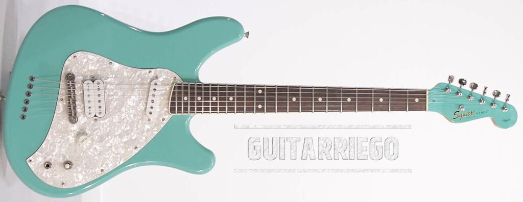 Squier Vista Venus co-designed with Courtney Love.