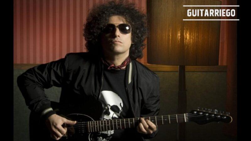 Flaca de Andrés Calamaro: acordes, tabs y letra para guitarra