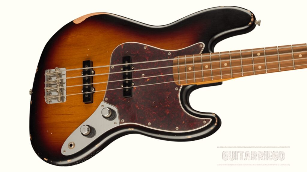 Fender lanza nuevo bajo Jazz Bass Road Worn 60th Anniversary
