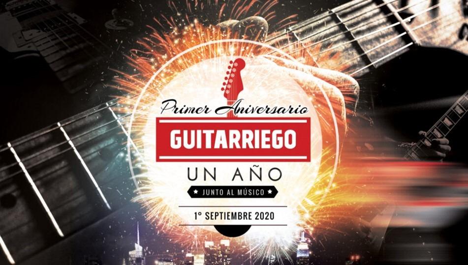 Primer Aniversario de Guitarriego, un año junto a los músicos