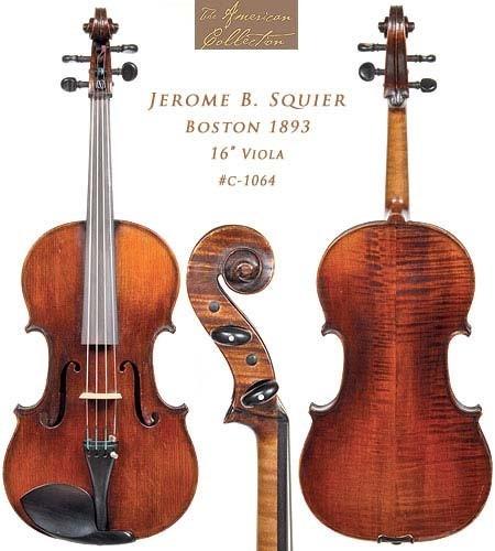 Violines Jerome B. Squier (JB Squier).