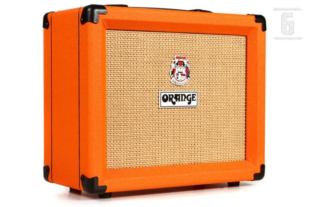 オレンジクラッシュ20、初心者のための最高の安いギターアンプの一つ。
