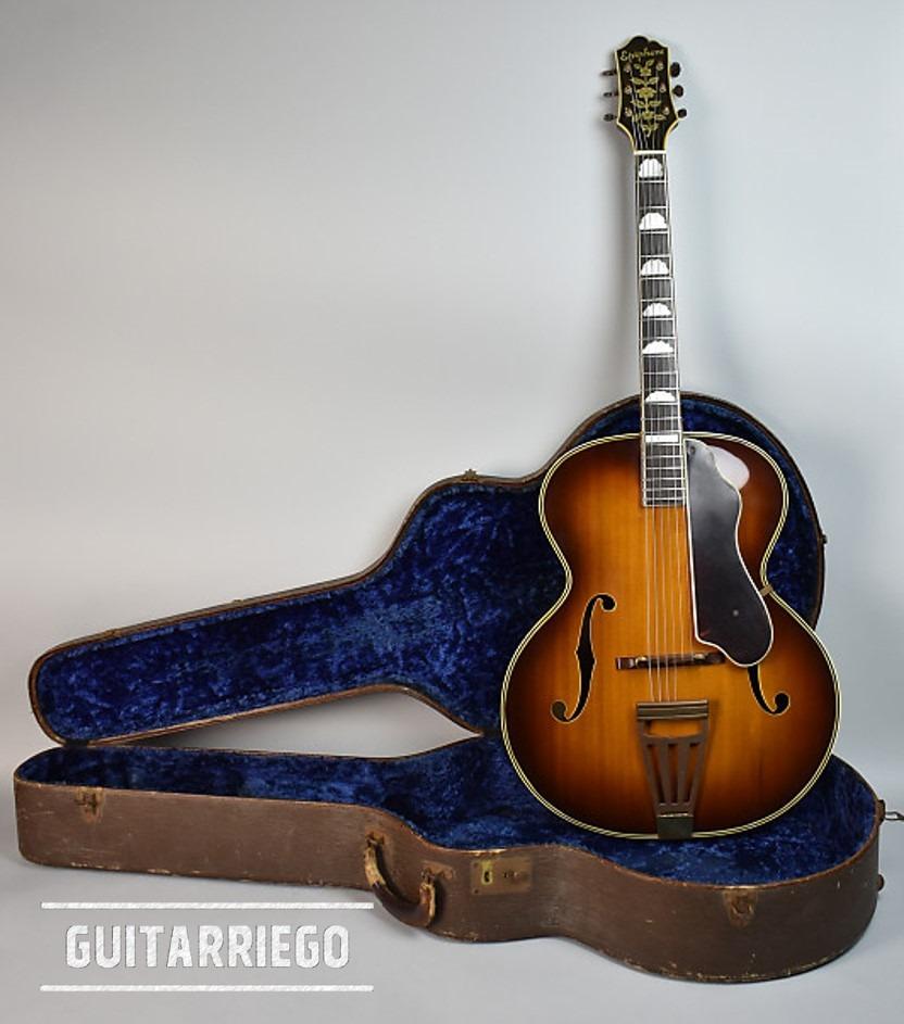 Epiphone De Luxe 1936 Masterbilt Series Guitar.