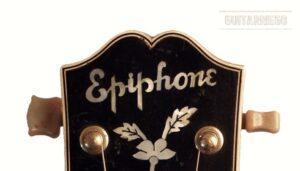 Epiphone De Luxe 1943: Historia de las guitarras de Stathopoulo.