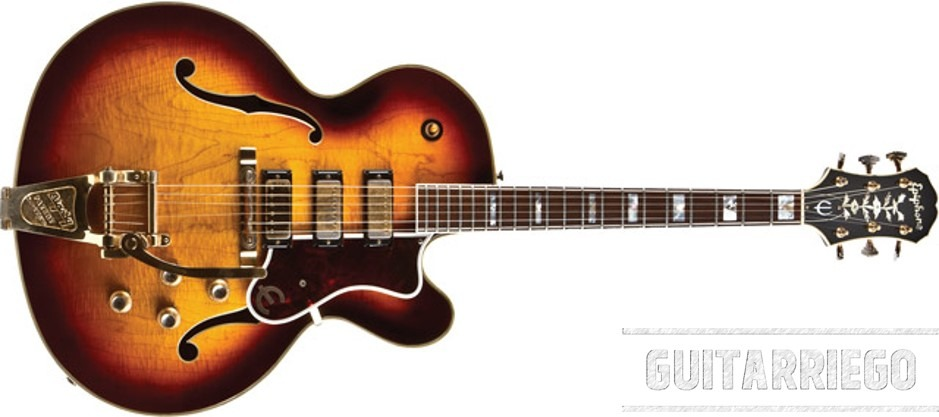 Emperor Guitar 1962, one of the most insteresting guitar in the history of Epiphone.