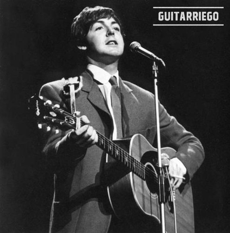 Epiphone Paul McCartney 1964 USA Texan.