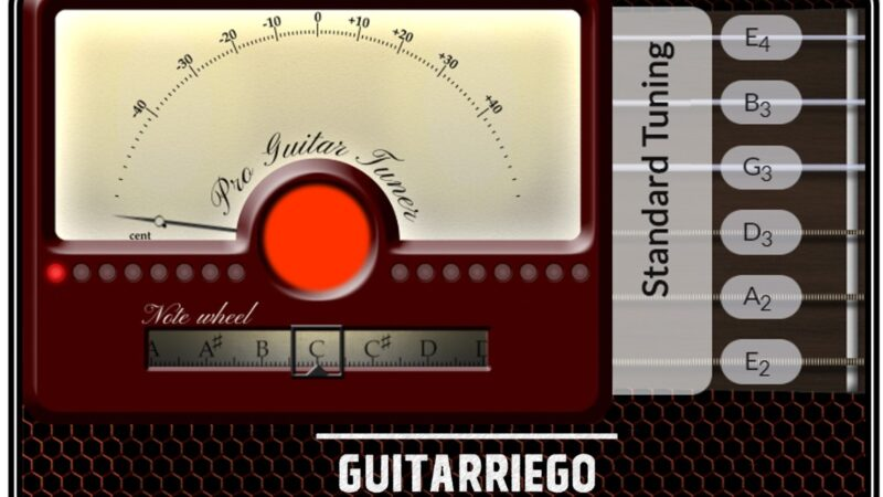 Free online guitar tuner:  tune your guitar or any instrument
