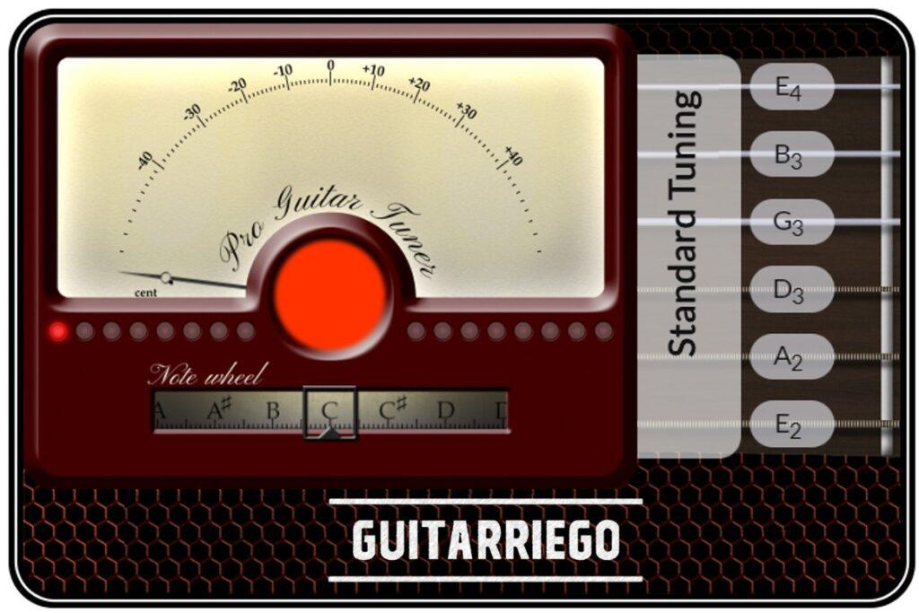 Accordeur de guitare en ligne gratuit: accordez votre guitare facilement
